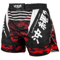 Шорты ММА Venum Okinawa 2.0 - Black/White-Red