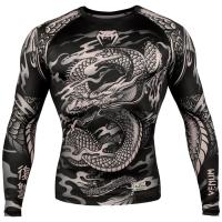 Рашгард Venum Dragon`s Flight LS - Black/Sand