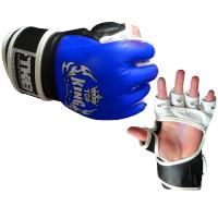 Перчатки MMA Top King Boxing Extream - Black/Blue