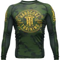 Рашгард Hardcore Training Green Camo