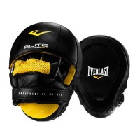Лапы Everlast Pro Elite Leather Mantis - Черный