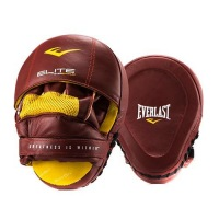 Лапы Everlast Pro Elite Leather Mantis - Красный