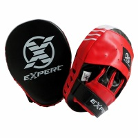 Тренерские лапы Fight Expert - Black/Red