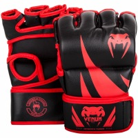 Перчатки MMA Venum Challenger Without Thumb - Black/Red