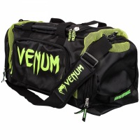 Сумка cпортивная Venum Trainer Lite -  Black/Neo Yellow