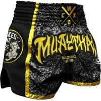 Шорты Муай Тай Wicked One Muaythai - Black/Yellow