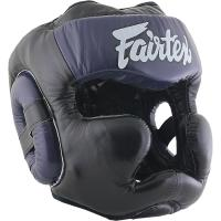 Боксерский Шлем Fairtex Extra Vision HG13 - Black/Purple