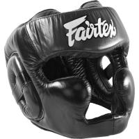 Боксерский шлем Fairtex Extra Vision HG13 - Black