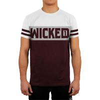 Футболка Wicked One Dope - Burgundy/White