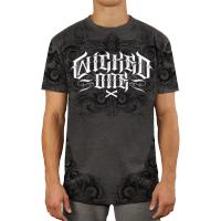 Футболка Wicked One Grind - Grey/White
