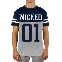 Футболка Wicked One Furious - Grey/Navy