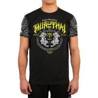 Футболка Wicked One Muay Thai - Black/Yellow