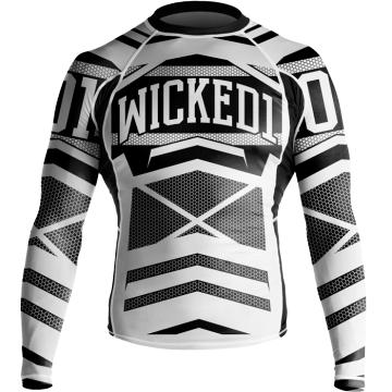 Рашгард Wicked One Stern - White/Black