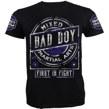 Футболка Bad Boy Character - Black/Blue