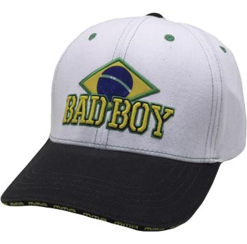 Бейсболка Bad Boy Brazilian White