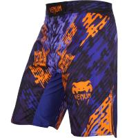 Шорты ММА Venum Neo Camo - Blue/Orange