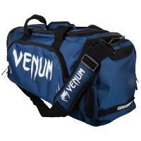 Сумка Спортивная Venum Trainer Lite - Navy Blue/White