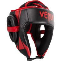 Боксерский шлем Venum Challenger 2.0 Open Face - Black/Red