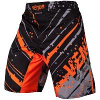 Шорты ММА Venum Pixel - Black/Grey/Orange