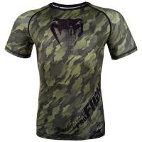 Рашгард Venum Tecmo Short Sleeves - Green