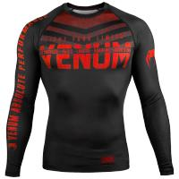 Рашгард Venum Signature - Black/Red