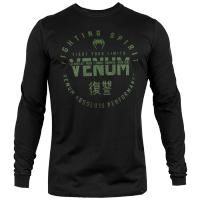Лонгслив Venum Signature - Black/Green