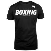 Футболка Venum Boxing - Black