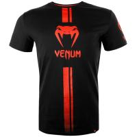 Футболка Venum Logos - Black/Red