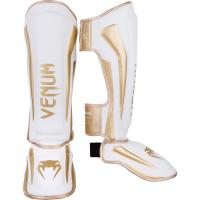 Шингарды Venum Elite - White/Gold