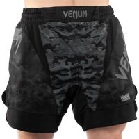 Шорты ММА Venum Defender - Dark Camo