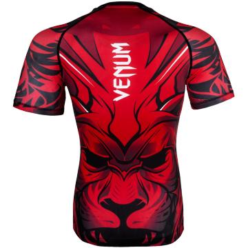 Рашгард Venum Bloody Roar Short Sleeves - Red | Фото 1