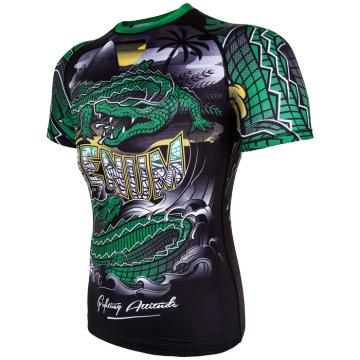 Рашгард Venum Crocodile Short Sleeves | Фото 3