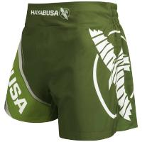 Шорты для кикбоксинга Hayabusa Kickboxing - Green