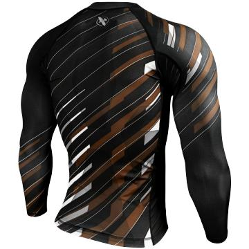 Рашгард Hayabusa Metaru Charged Longsleeve - Brown | Фото 1