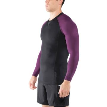 Рашгард Virus Stay Cool CO30 - Black/Purple