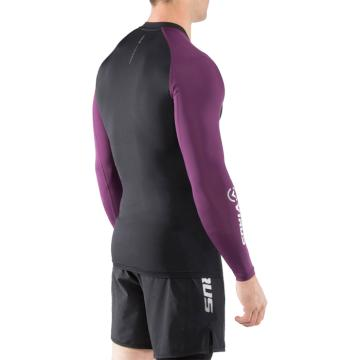 Рашгард Virus Stay Cool CO30 - Black/Purple | Фото 1