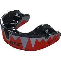 Боксерская капа Opro Platinum Level Fangz UFC - Red/Silver/Black