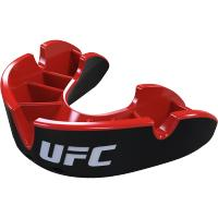 Боксерская капа Opro Silver Level UFC - Black/Red