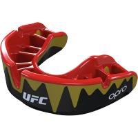 Боксерская капа Opro Platinum Level Fangz UFC - Black/Gold/red