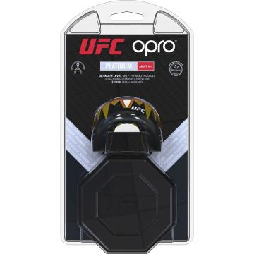 Боксерская капа Opro Platinum Level Fangz UFC - Red/Silver/Black | Фото 1