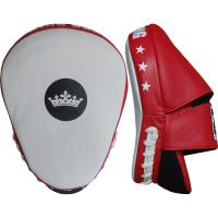 Тренерские лапы Top King Boxing Super - White/Red