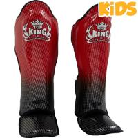 Шингарды детские Top King Boxing Super Star - Black/Red