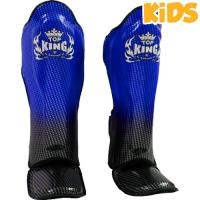 Шингарды детские Top King Boxing Super Star - Black/Blue