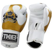 Перчатки боксерские Top King Boxing Empower Creativity - White/Gold