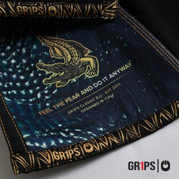 Ги для BJJ Grips Athletics Armadura - Black | Фото 7