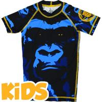 Детский Рашгард Hardcore Training Gorilla Short Sleeves