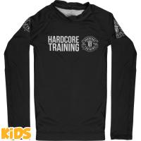 Детский рашгард Hardcore Training Recruit Black