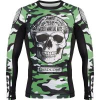 Рашгард Hardcore Training Fear Zone Green Camo