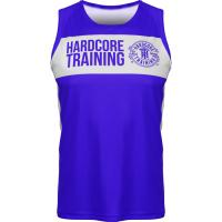 Боксерская майка Hardcore Training Blue/White