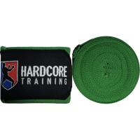 Боксерские бинты Hardcore Training Superior - Green (4m)
